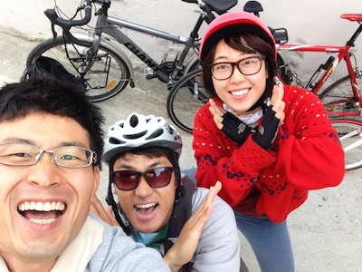 自転車韓国